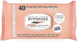 Voňavky, Parfémy, kozmetika Servítky na odstránenie make-upu - Byphasse Make-up Remover Pomegranate Extract And Green Tea