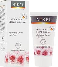 Voňavky, Parfémy, kozmetika Zvlhčovač s ruží - Nikel Hydrating Cream with Rose