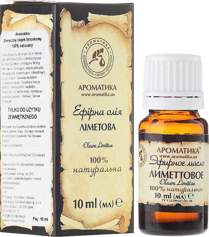 """Esenciálny olej """"Limetkový"""" - Aromatika — Obrázky N1"""