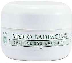 Voňavky, Parfémy, kozmetika Špeciálny krém na pokožku okolo očí - Mario Badescu Special Eye Cream V