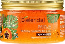 "Voňavky, Parfémy, kozmetika Peeling na telo ""Papája"" - Bielenda Exotic Paradise Peel"