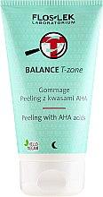 Voňavky, Parfémy, kozmetika Peeling-gomáž na tvár s kyselinami - Floslek Balance T-Zone Gommage Peeling With AHA Acids