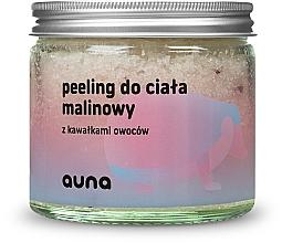 Voňavky, Parfémy, kozmetika Malinový telový peeling - Auna Raspberry Body Scrub