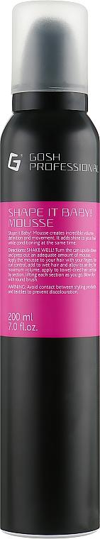 Vlasová pena - Gosh Shape it Baby! Mousse
