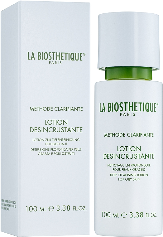 Hĺbkovo čistiaci lotion pre mastnú pleť - La Biosthetique Methode Clarifiante Lotion Desincrustante