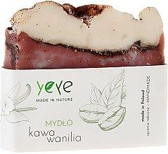 """Voňavky, Parfémy, kozmetika Mydlo 100% prírodné """"Káva a vanilka"""" - Yeye Natural Coffee and Vanilla Soap"""