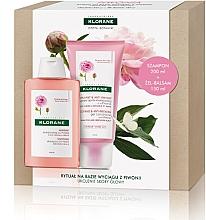 Voňavky, Parfémy, kozmetika Sada - Klorane Peony (shm/200ml + cond/150ml)