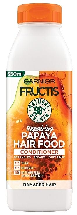 "Revitalizačný kondicionér na vlasy ""Papaya"" - Garnier Fructis Repairing Papaya Hair Food Conditioner"