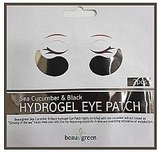 Voňavky, Parfémy, kozmetika Hydrogélové náplaste na očné okolie - BeauuGreen Sea Cucumber Black