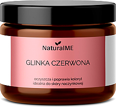 """Voňavky, Parfémy, kozmetika Prírodná hlinka """"Červená"""" - NaturalME"""