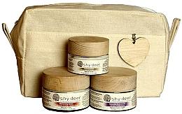 Voňavky, Parfémy, kozmetika Sada pre suchú a normálnu pokožku - Shy Deer Natural Ritual Set (cr/mask/50ml+cr/50ml+eye/cr/30ml+bag)