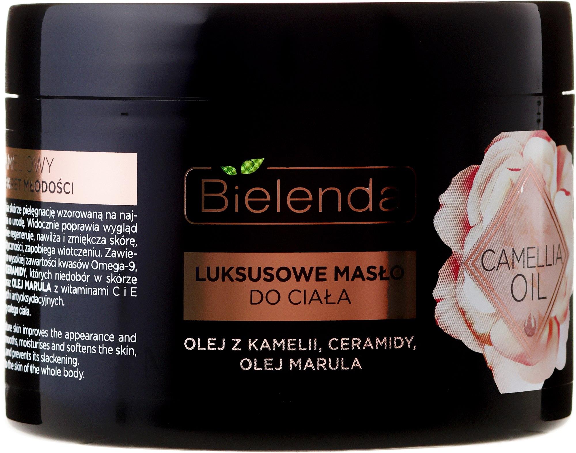 Telový olej - Bielenda Camellia Oil Luxurious Body Butter — Obrázky 200 ml