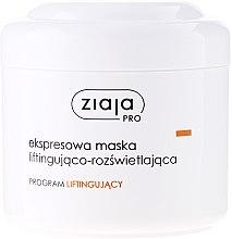 Voňavky, Parfémy, kozmetika Expresné spevňujúca maska na tvár - Ziaja Pro Lifting Express Mask