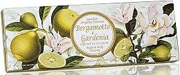 """Voňavky, Parfémy, kozmetika Sada prírodného mydla """"Bergamot a Gardenia"""" - Saponificio Artigianale Fiorentino Bergamot & Gardenia (3 x 100g)"""