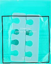 Voňavky, Parfémy, kozmetika Oddeľovač prstov, tyrkysový - Oriflame Pedicure Toe Separators