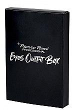 Voňavky, Parfémy, kozmetika Súprava na líčenie očí - Pierre Rene Outfit Eyes Box (mascara/15ml + liner/2.5ml + pencil/0.35g)