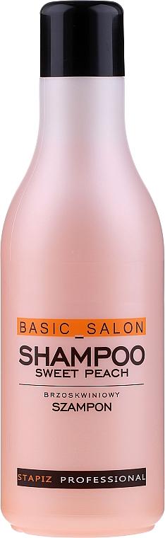 """Šampón na vlasy """"Broskyňa"""" - Stapiz Basic Salon Shampoo Sweet Peach"""