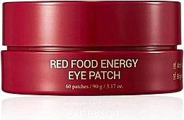 Voňavky, Parfémy, kozmetika Náplasti pod oči - Yadah Red Food Energy Eye Patch