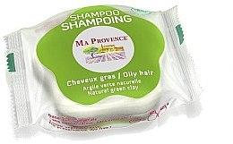 """Voňavky, Parfémy, kozmetika Tuhý biošampón pre mastné vlasy """"Zelená hlina"""" - Ma Provence Shampoo"""