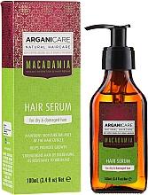 """Voňavky, Parfémy, kozmetika Sérum na vlasy """"Poškodené hroty"""" - Arganicare Macadamia Hair Serum for Dry & Damaged Hair"""