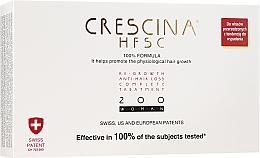 Voňavky, Parfémy, kozmetika Komplex na liečbu vypadávania vlasov u žien 200 - Crescina Re-Growth HFSC Formula 100%