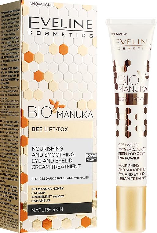 Krém na pokožku okolo očí proti starnutiu - Eveline Cosmetics Bio Manuka Bee Lift-tox