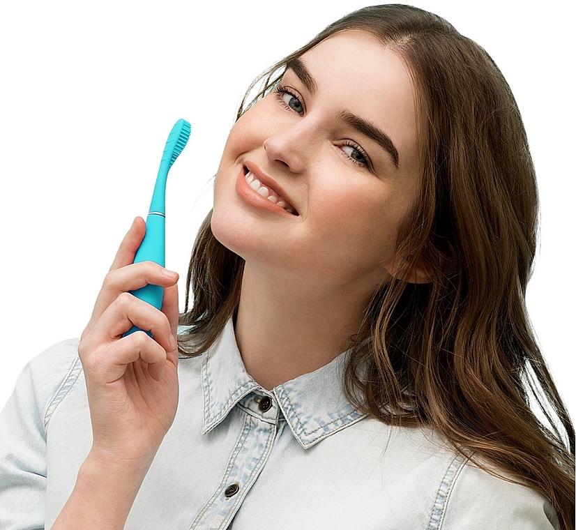 Elektrická zubná kefka pre citlivé ďasná - Foreo Issa Mini 2 Sensitive Summer Sky — Obrázky N5