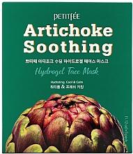 Voňavky, Parfémy, kozmetika Hydrogélová upokojujúca maska na tvár s extraktom z artičokov - Petitfee&Koelf Artichoke Soothing Face Mask