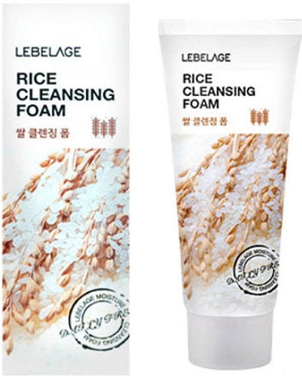 Ryžová pena - Lebelage Rice Cleansing Foam