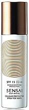 Voňavky, Parfémy, kozmetika Ochranný opaľovací sprej na telo SPF 15 - Kanebo Sensai Cellular Protective Spray For Body