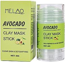 Voňavky, Parfémy, kozmetika Maska na tvár v tyčinke s avokádom - Melao Avocado Clay Mask Stick