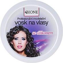 Voňavky, Parfémy, kozmetika Vosk na vlasy - Bione Cosmetics Professional Hair Wax Silicone