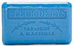 "Voňavky, Parfémy, kozmetika Marseillské mydlo ""Ľalia"" - Foufour Savonnette Marseillaise Fleur de Lys"