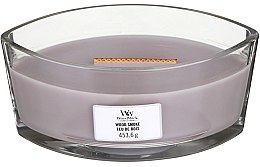 Voňavky, Parfémy, kozmetika Vonná sviečka v pohári - Woodwick Hearthwick Flame Ellipse Candle Wood Smoke