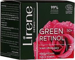 Voňavky, Parfémy, kozmetika Denný liftingový krém na tvár - Lirene Green Retinol Lifting Day Cream 50+