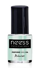 Voňavky, Parfémy, kozmetika Olej na nechty - Neess Perfume Mani Oil Primrose
