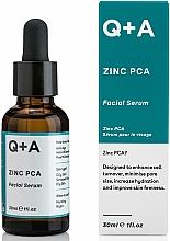 Voňavky, Parfémy, kozmetika Sérum na tvár - Q+A Zinc PCA Facial Serum