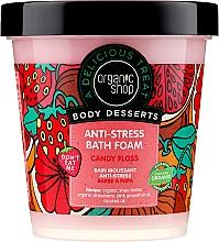"""Voňavky, Parfémy, kozmetika Pena do kúpeľa """"Anti-stres. Bavlnené cukrovinky """" - Organic Shop Body Desserts Sugar Vata"""