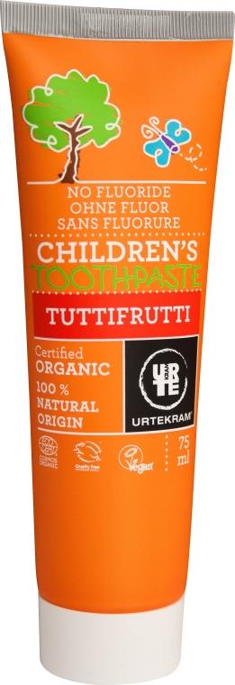 "Detská zubná pasta ""Tutti Frutti"" - Urtekram Childrens Toothpaste Tuttifrutti"