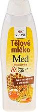 Voňavky, Parfémy, kozmetika Mlieko pre telo - Bione Cosmetics Honey + Q10 Regenerative Body With Vitamin E Lotion