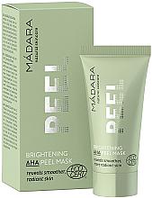 Voňavky, Parfémy, kozmetika Osviežujúca peelingová maska s ANA kyselinami - Madara Cosmetics Brightening AHA Peel Mask