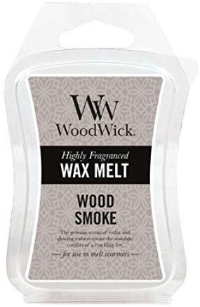Vonný vosk - WoodWick Wax Melt Wood Smoke — Obrázky N1