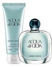 Voňavky, Parfémy, kozmetika Giorgio Armani Acqua di Gioia - Sada (edp 100ml + b/lot 75ml)