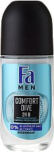 Voňavky, Parfémy, kozmetika Guľôčkový dezodorant - Fa Men Comfort Dive Deodorant