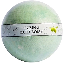 "Voňavky, Parfémy, kozmetika Bomba do kúpeľa ""Olivovník"" - Kanu Nature Fizzing Bath Bomb Olive Tree"