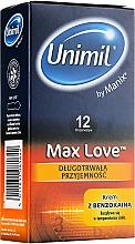 Voňavky, Parfémy, kozmetika Kondómy, 12 ks - Unimil Max Love
