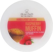 """Voňavky, Parfémy, kozmetika Krém na ruky a nohy """"Malinový košíček"""" - Hristina Cosmetics Stani Chef's Raspberry Muffin Hand & Foot Butter"""