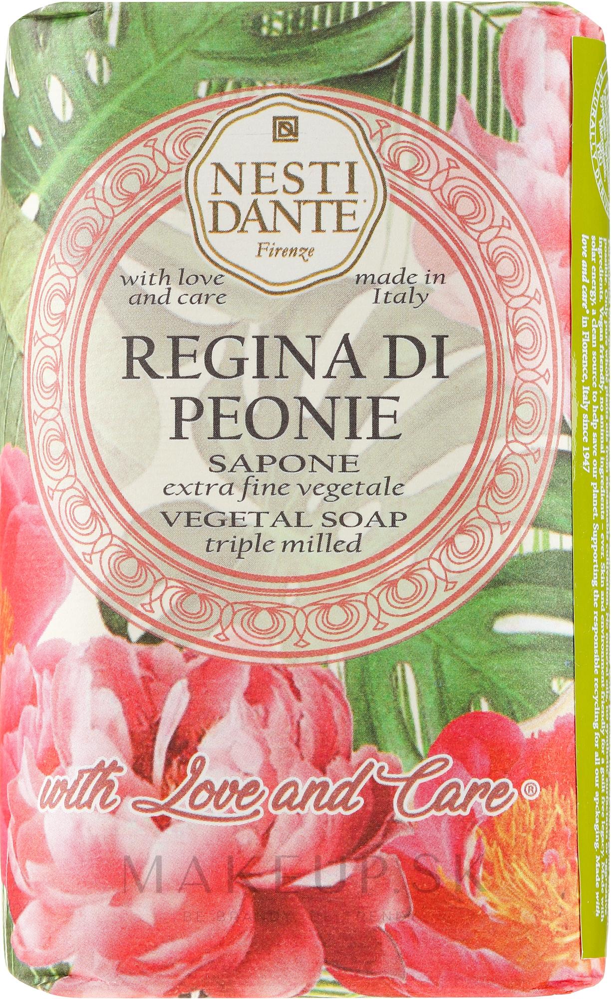 "Mydlo ""Kráľovská pivónia"" - Nesti Dante — Obrázky 250 g"