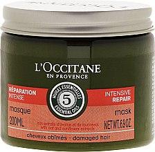 """Voňavky, Parfémy, kozmetika Maska na vlasy """"Intenzívna regenerácia"""" - L'Occitane Aromachologie Repairing Mask"""