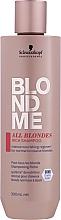 Voňavky, Parfémy, kozmetika Obohatený šampón pre všetky typy vlasov - Schwarzkopf Professional Blondme All Blondes Rich Shampoo